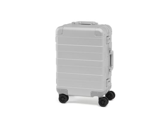 Muji aluminum luggage