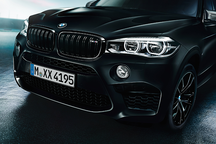 BMW X6 M X5 M BlackFire Edition