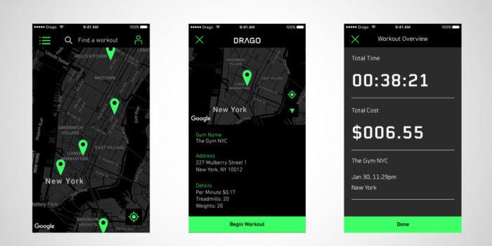 drago gym app