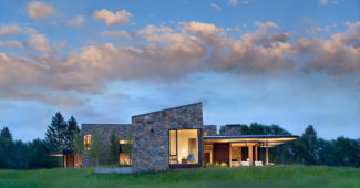 Modern home design Wyoming
