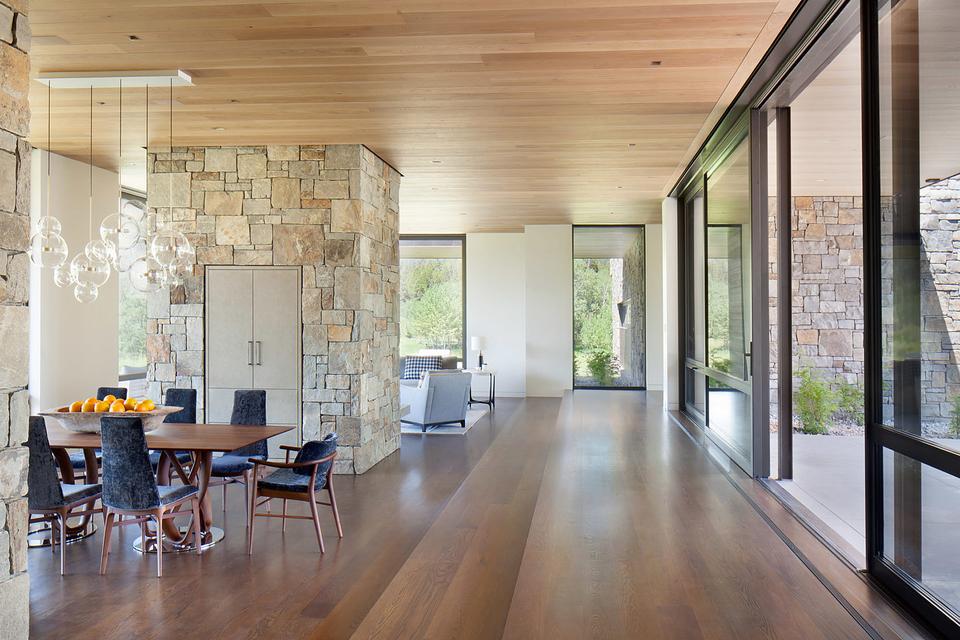 Modern home design Wyoming