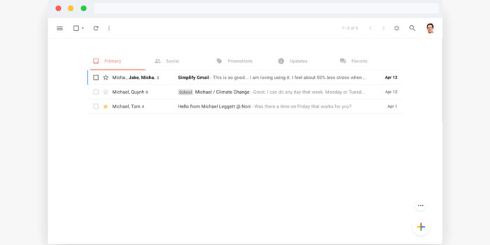 Gmail Simplify Chrome